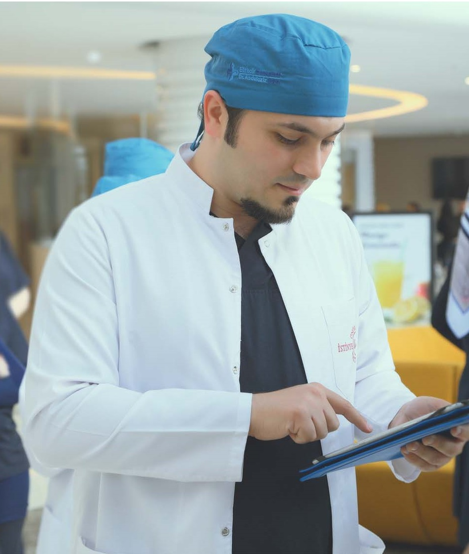 Arzt für Haartransplantation - Dr. Abdulaziz Balwi