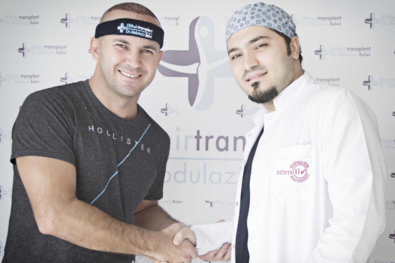 Dr Balwi Patient