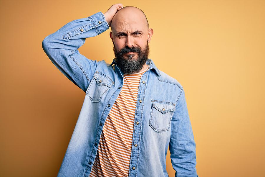 Kreisrunder Haarausfall am Bart