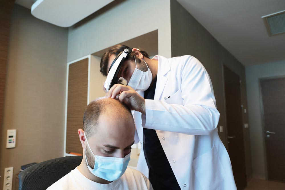 Dr. Balwi blonde Haare Haartransplantation