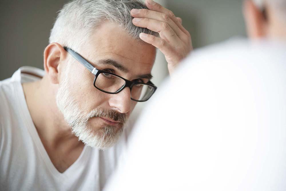 Alter als Bedingung für Haartransplantation