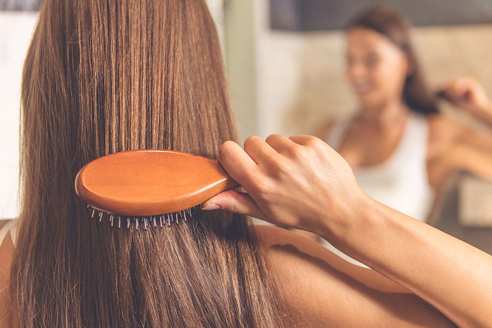 Haarbürste Haarausfall